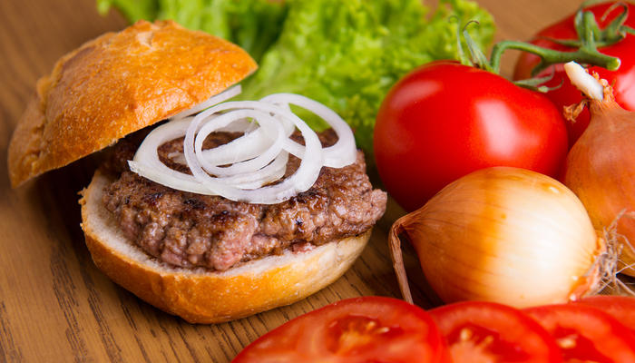 Hjemmelaget tacoburger