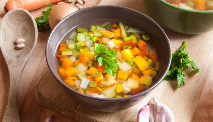 Vegetarisk høstsuppe