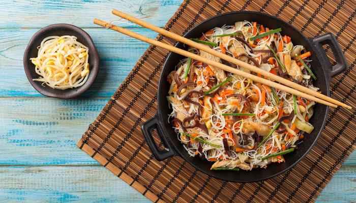 Thaiinspirert kyllingrett